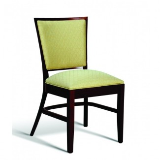 Beech Wood Stacking Side Chair CC115 Series with Padded Seat