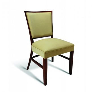 Beech Wood Stacking Side Chair CC115 Series with Wrapped Sides