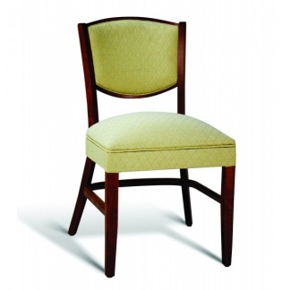 Beech Wood Stacking Side Chair CC131 Series with Wrapped Sides