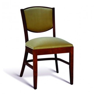 Beech Wood Stacking Side Chair CC131 Series with Padded Seat
