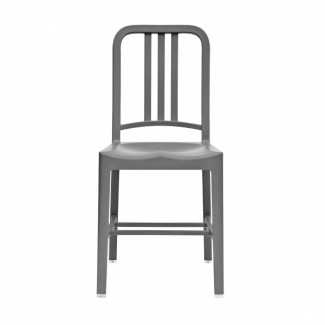 Eco Friendly Restaurant Breakroom Chairs 111 Navy Recycled Chair - Flint