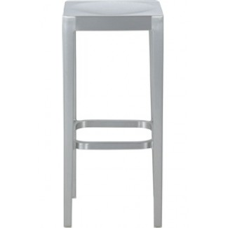 Emeco Aluminum Backless Bar Stool