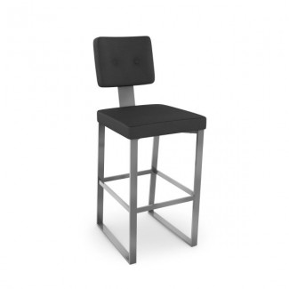 Empire 40554-USUB Hospitality distressed metal bar stool