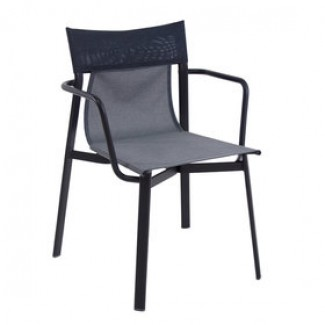 Emu Breeze 799 Steel Italian Commercial Restaurant Hospitality Stacking Arm Chair