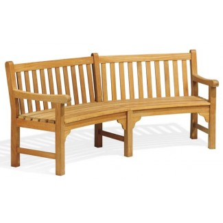 Essex Curved Bench 6' 11""