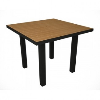Euro Plastique Resin Dining Table