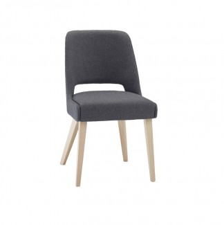 Beech Wood Upholstered Hospitality Dining Side Chair - Matera