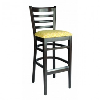 European Beech Solid Wood Restaurant Bar Stools Holsag Carole Bar Stool