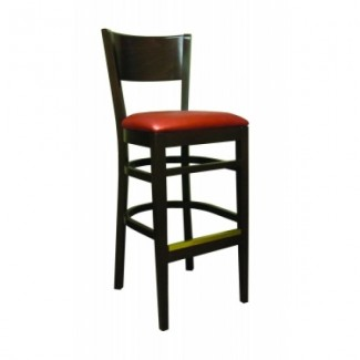European Beech Solid Wood Restaurant Bar Stools Holsag Denver Barstool