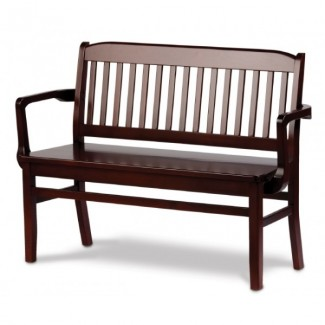 "Holsag 60"" Bulldog Bench with Arms"