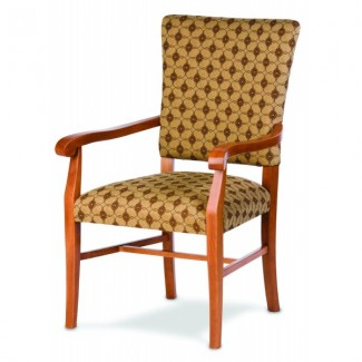 European Beech Solid Wood Restaurant Chairs Holsag Remy Accent Arm Chair