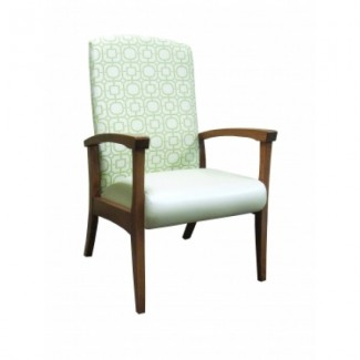 European Beech Solid Wood Restaurant Chairs Holsag Richmond Armchair