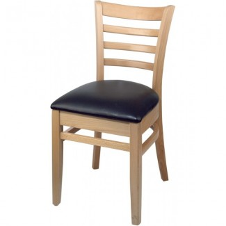 European Beech Solid Wood Restaurant Side Chairs Holsag Carole Side Chair