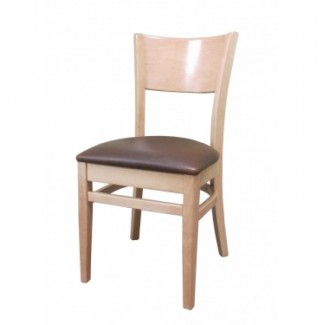 European Beech Solid Wood Restaurant Side Chairs Holsag Denver Side Chair