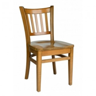 European Beech Solid Wood Restaurant Side Chairs Holsag Grill Side Chair