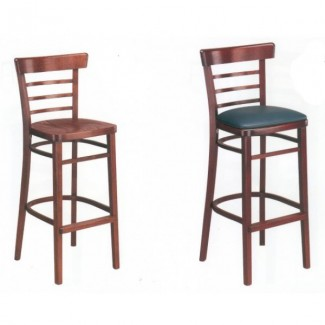 European Beech Solid Wood Upholstery Restaurant Bar Stools Beechwood Bar Stool 1950P