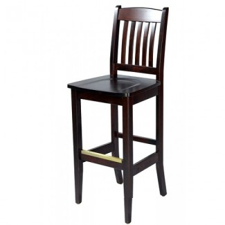 European Beech Solid Wood Upholstery Restaurant Bar Stools Beechwood Bar Stool 2829W