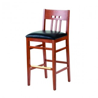Beech Wood Bar Stool 2869P