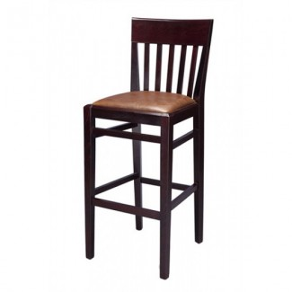 Beech Wood Bar Stool 2897P