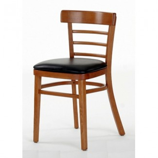 Beech Wood Side Chair 200P with Ladder Back