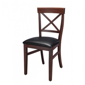 European Beech Solid Wood Upholstery Restaurant Side Chairs Beechwood Side Chair 399P