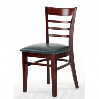 Beech Wood Side Chair 454P with Ladder Back
