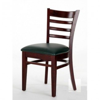 Beech Wood Side Chair 553P with Ladder Back