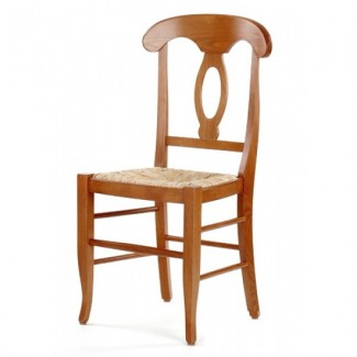 Rustic Beech Wood Side Chair 755R