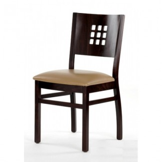 Contemporary Beech Wood Side Chair 780P with Window Back
