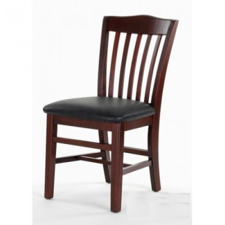 Schoolhouse Style Beech Wood Side Chair 827P