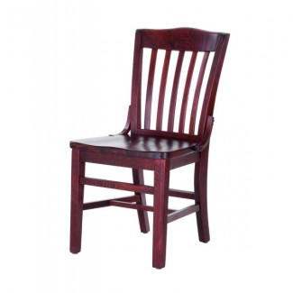 Schoolhouse Style Beech Wood Side Chair 827W