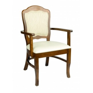 Holsag Vincent Camel Back Arm Chair