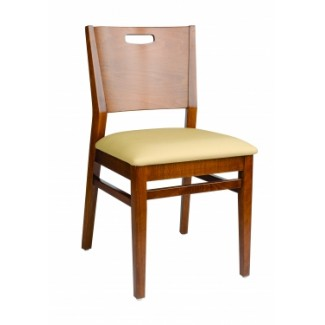 European Beech Solid Wood Restaurant Side Chairs Holsag York Chair