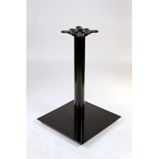 "16"" Square Table Base Expectation Series in Black"