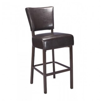 Faux Wood Grain Metal Restaurant Bar Stools Beechwood Bar Stool M5560BS