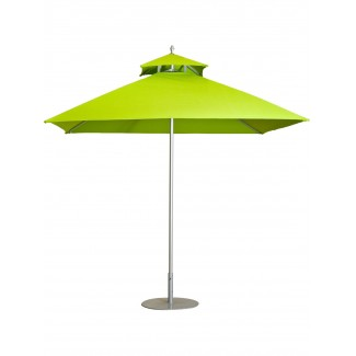 Fiji 8' Hexagonal Restaurant Umbrella