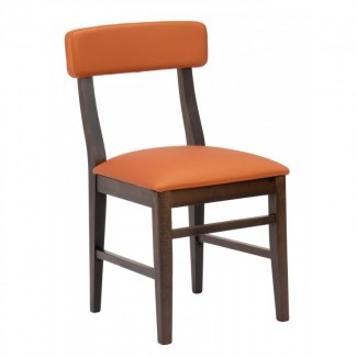 fls-21s Mission  Mid Century Modern European Beechwood Commercial Hospitality Side Chair