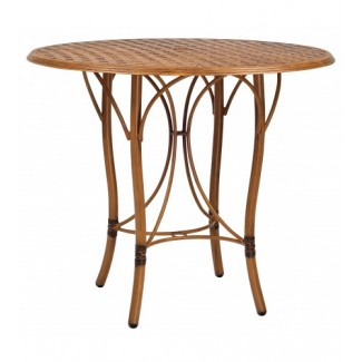 Glade Isle Bar Table With Thatch Top