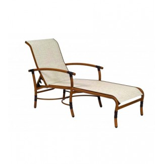 Glade Isle Sling Adjustable Chaise Lounge