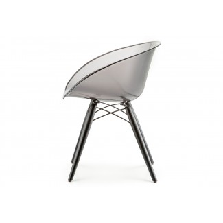 Gliss Transparent Barrel Chair