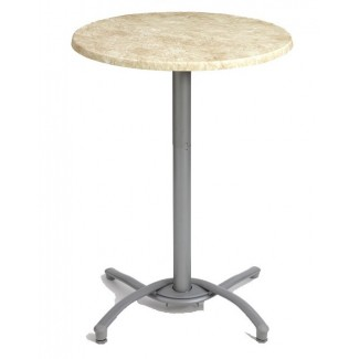 Small Aluminum Bar Table Base