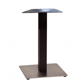 "18"" Square Contemporary Square Pedestal Table Base US181009"