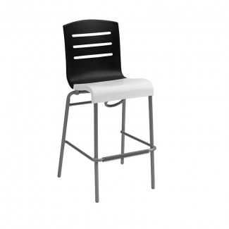 Grosfillex Domino Stacking Bar Stool