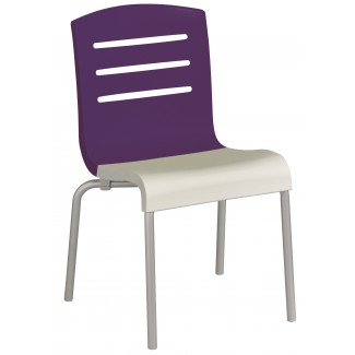 Domino Indoor / Outdoor Stacking Side Chair XB00
