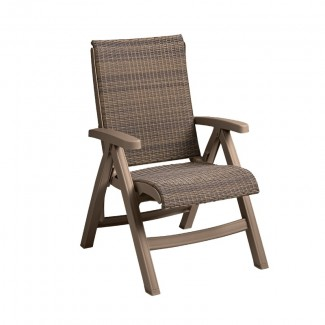 Java All-Weather Wicker Folding Chair
