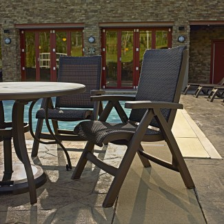 Hospitality and hotel pool and lounge furniture