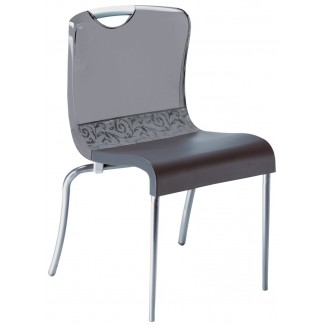 Krystal Stacking Side Chair