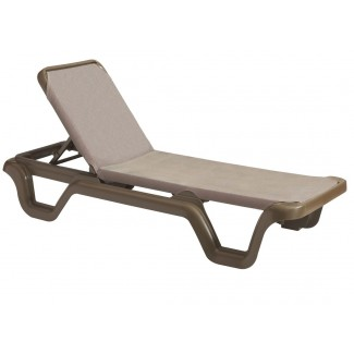 Grosfillex Commercial Poolside Chaise Lounges