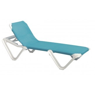 Grosfillex Expert Poolside Chaise Lounge Chairs