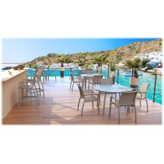 Commercial Hospitality Bar Stools for Poolside